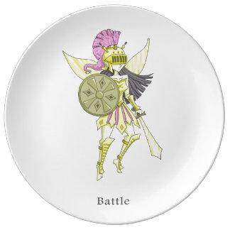 A fairy named Battle Plate