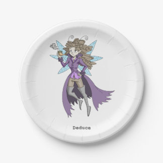 A fairy named Deduce 7 Inch Paper Plate