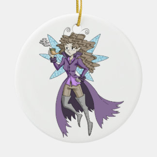 A fairy named Deduce Christmas Ornament