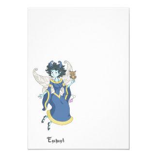 A fairy named Enchant 13 Cm X 18 Cm Invitation Card