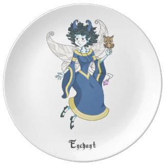 A fairy named Enchant Porcelain Plates