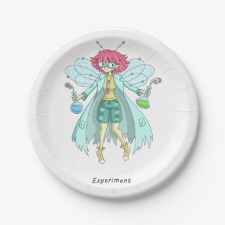 A fairy named Experiment 7 Inch Paper Plate