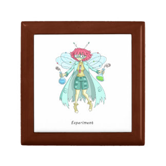 A fairy named Experiment Small Square Gift Box