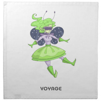 A fairy named Voyage Napkin