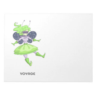 A fairy named Voyage Notepad