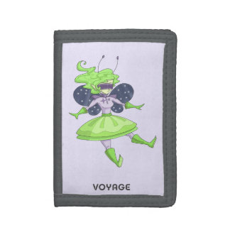 A fairy named Voyage Tri-fold Wallets