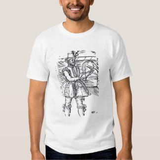 A Falconer with his Goshawk Tee Shirts