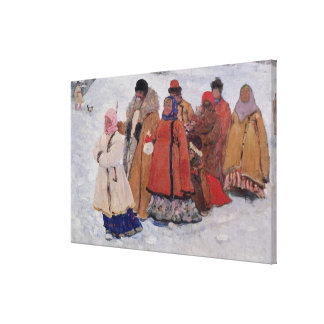 A Family, 1909 Canvas Print