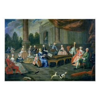 A Family Concert at Chateau Renescure Poster