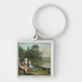 A family of Anglers, 1749 Keychains