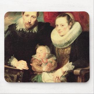 A Family Portrait, c.1618-21 Mouse Mat
