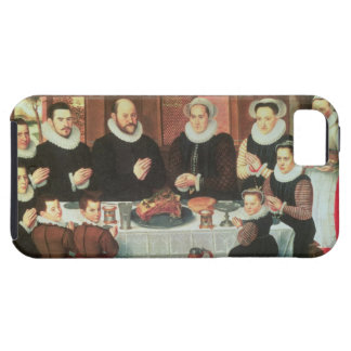 A Family Saying Grace Before the Meal, 1585 (oil o iPhone 5 Cover