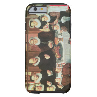 A Family Saying Grace Before the Meal, 1585 (oil o Tough iPhone 6 Case