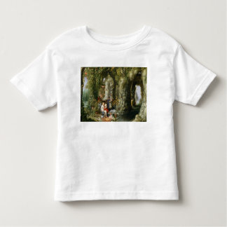 A Fantastic cave with Odysseus and Calypso Toddler T-Shirt
