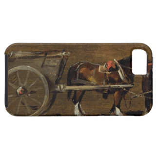 A Farm Cart with two Horses in Harness: A Study fo Case For The iPhone 5