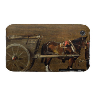 A Farm Cart with two Horses in Harness: A Study fo Case-Mate iPhone 3 Case