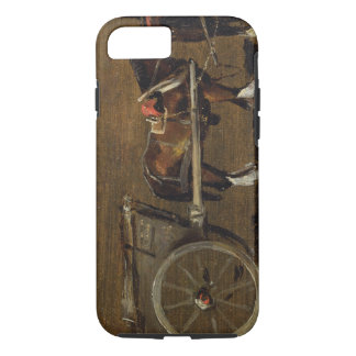 A Farm Cart with two Horses in Harness: A Study fo iPhone 7 Case