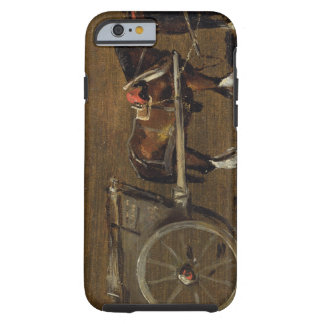 A Farm Cart with two Horses in Harness: A Study fo Tough iPhone 6 Case