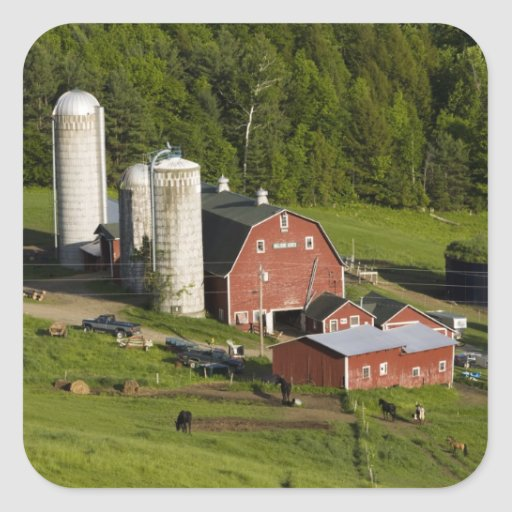 A farm in Barnet Center, Vermont. Connecticut Stickers