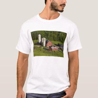 A farm in Barnet Center, Vermont. Connecticut T-Shirt