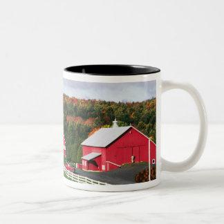 A farm in Vermont near Peacham. RELEASE Two-Tone Coffee Mug