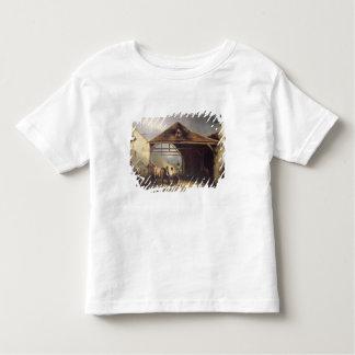 A Farrier shoeing a Horse Toddler T-Shirt