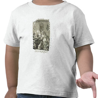A Father Reading to his Family by Candlelight, eng Tshirt