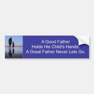 A Father s Hand Bumper Stickers
