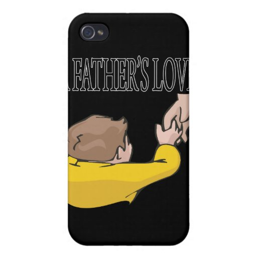 A Fathers Love iPhone 4 Covers