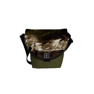 A faun by the stream messenger bags