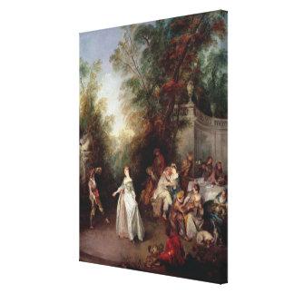A Feast Canvas Prints