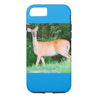 A female deer off of Highway 100 iPhone 8/7 Case