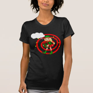 A female Santa elf T-Shirt