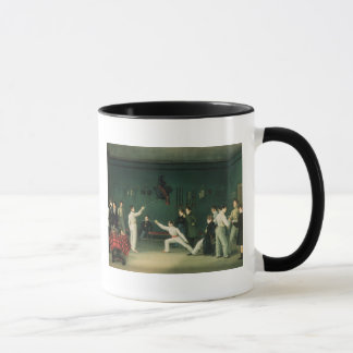 A Fencing Scene, 1827 Mug