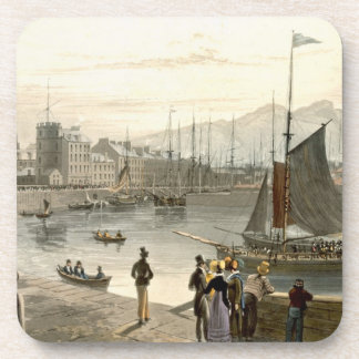 A ferry arriving at Leith, from 'A Voyage Around G Coaster