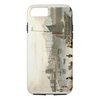 A ferry arriving at Leith, from 'A Voyage Around G iPhone 7 Case