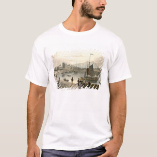 A ferry arriving at Leith, from 'A Voyage Around G T-Shirt