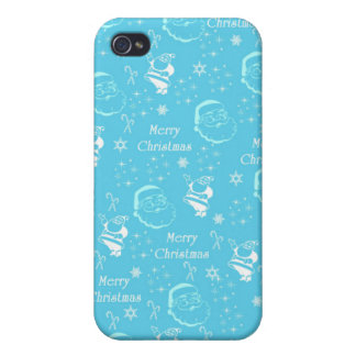 A Festive Jolly Father Christmas iPhone 4/4S Cover