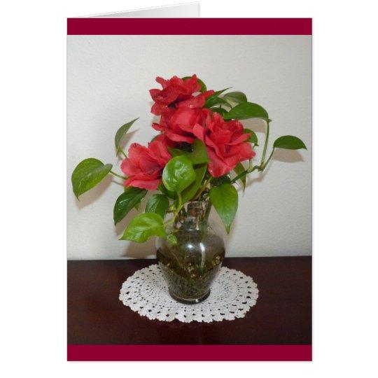 A Few roses Card