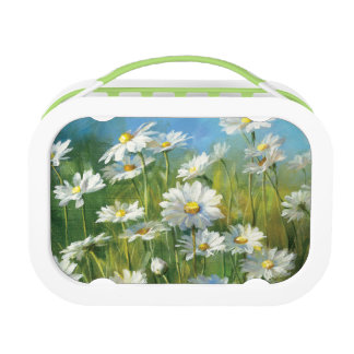 A Field of White Daisies Lunch Box