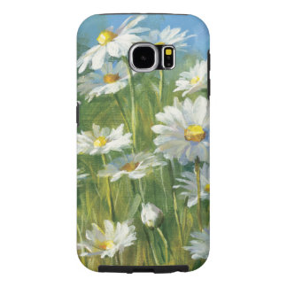A Field of White Daisies Samsung Galaxy S6 Cases