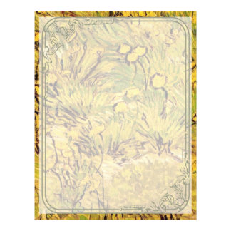 A field of Yellow Flowers,  Vincent van Gogh. Full Color Flyer