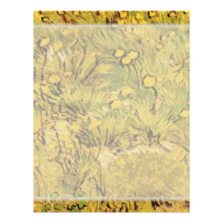 A field of Yellow Flowers,  Vincent van Gogh. 21.5 Cm X 28 Cm Flyer