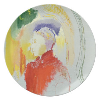 A Figure (w/c on paper) Plate