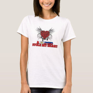 A Filipino Stole my Heart T-Shirt