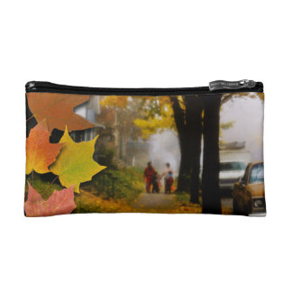 A Fine Autumn Day Makeup Bag