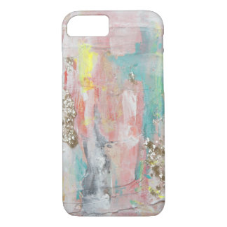 A Fine Day - Mixed Media Abstract Painting iPhone 8/7 Case