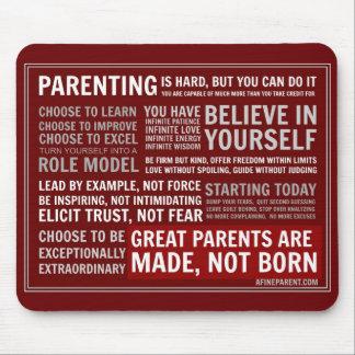 A Fine Parent's Manifesto - Mousepad