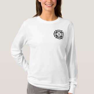 A Fire Fighter Maltese T-Shirt