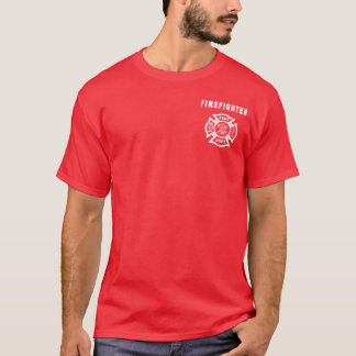 A Firefighter Logo T-Shirt